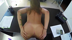 LOAN4K. School tour worth to be fucked by loan manager...