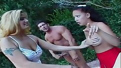 porn sexe threesome with anal teen sluts trio avec puny salope anale