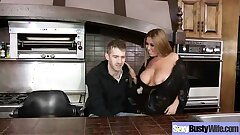 Huge-titted Housewife (kianna dior) Having Orgy On Camera clip-18