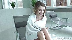 Beauty4k.com - Mary Kalisy - Bashful natural platinum-blonde is seduced