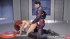 DigitalPlayground - Captain America A Hardcore Parody