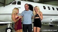 Fuck teens on my Private Jet! # Naomi Woods, Marsha May