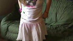 Petite teen Kitten in a cute tiny pink skirt