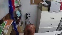 fingering by a police station plain battery/theft