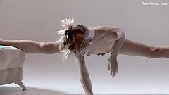 Russian warm hairy gymnast Rita Mochalkina