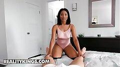 Black Girlfriends - (Jenna J Foxx, Logan Long) - I Fantasy Of Jenna - Reality Kings