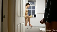 Ultra-kinky Stepdaughter Ep. 4 - Spied on in the shower